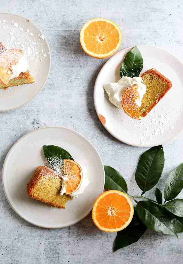 tangerine and olive oil cake