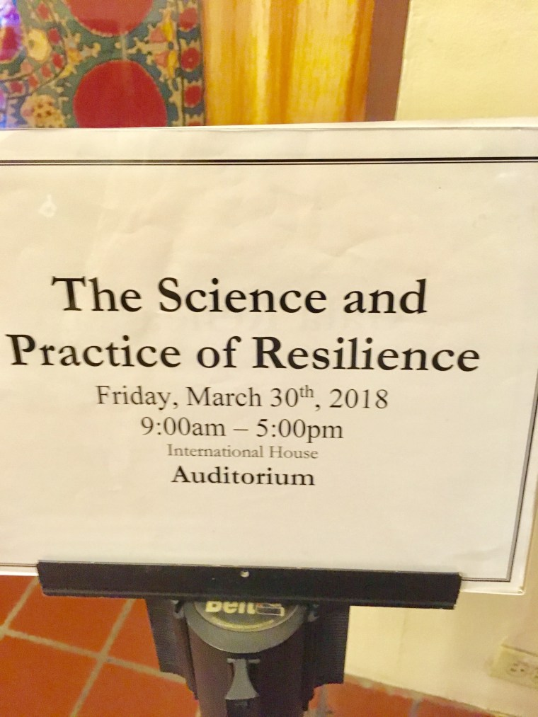 A Day on Resilience at the Greater Good Science Center