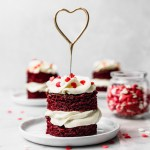 Mini Red Velvet Cakes Cravings Journal