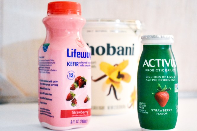 Probiotic options in dairy products