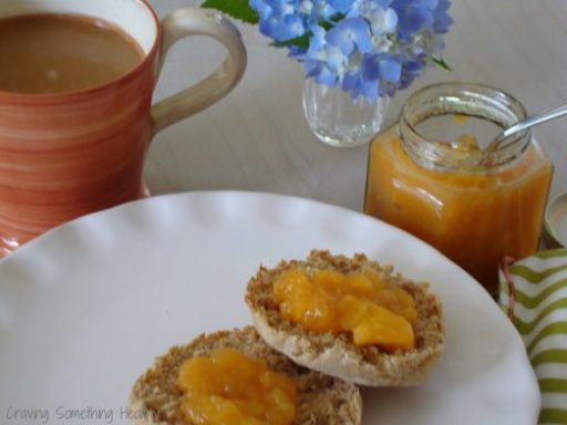 Peach Jam with Lavender and Honey|Craving Something Health