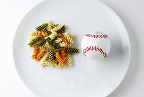 pasta portion size