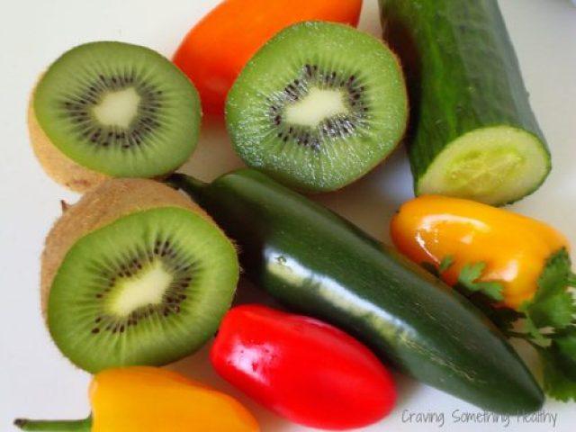 Fruit Salsa|CravingSomethingHealthy