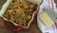 Butternut Squash Farrotto with Montasio|Craving Something Healthy