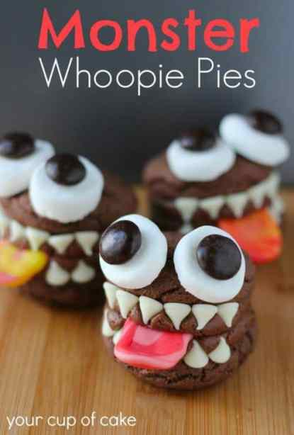 Monster Whoopie Pies|Your Cup of Cake