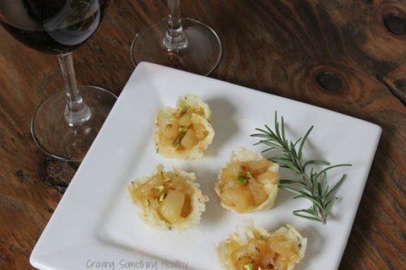 Pear and Montasio Tartlets Craving Something Healthy