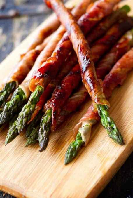 Prosciutto Wrapped Asparagus|Eat Drink Paleo