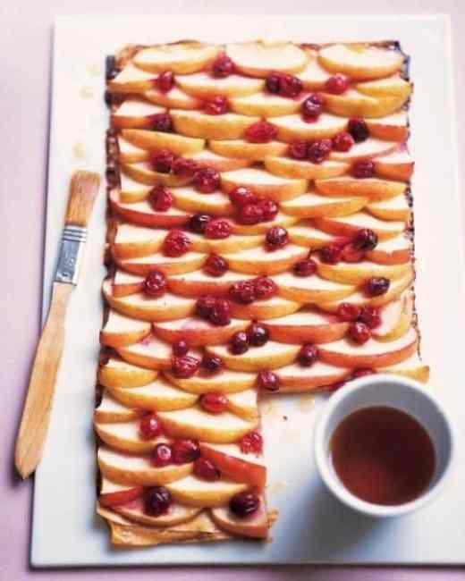 Cranberry Apple and Maple Phyllo|Martha Stewart