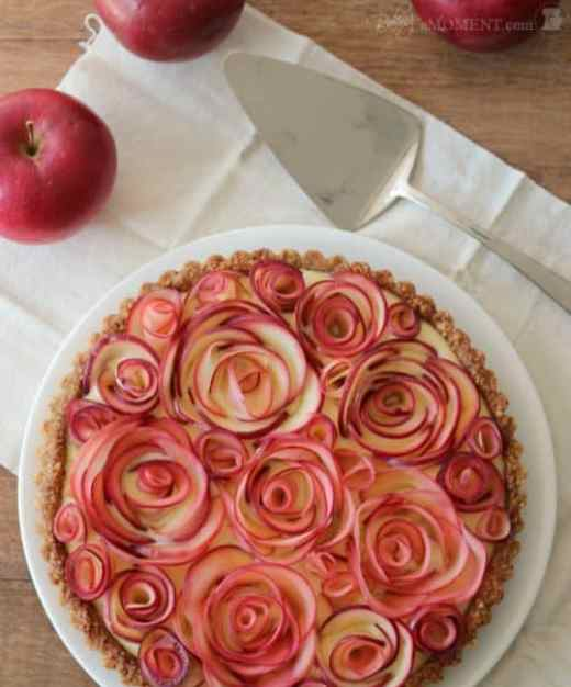 Apple Rose Tart Baking a Moment