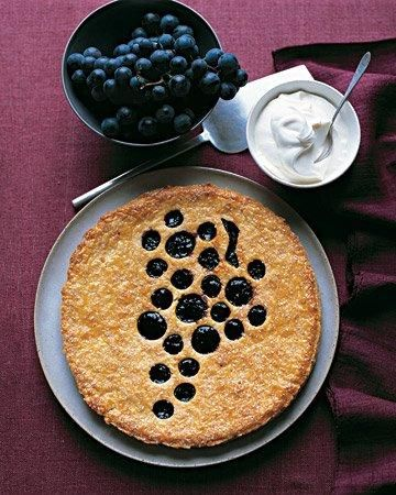 Concord Grape Jam Tart|Martha Stewart