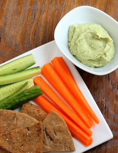White Bean and Avocado Dip