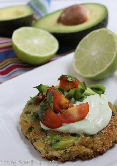 Avocado Quinoa Cakes|Craving Something Healthy
