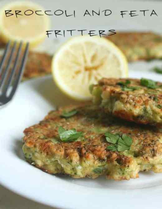 Broccoli Feta Fritters|Amuse Your Bouche