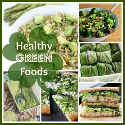 Healthy and Meatless Green Food