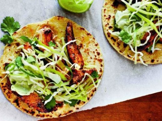 Ancho Chicken Tacos|Cooking Light