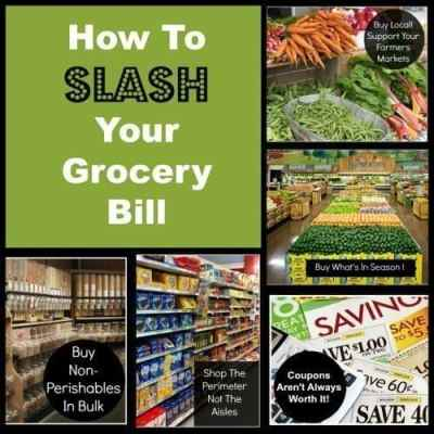 5 Ways to Slash Your Grocery Bill