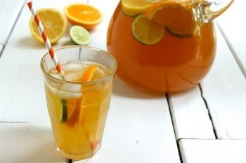 Citrus Spiked Chai Sun Tea Craving Something Healty