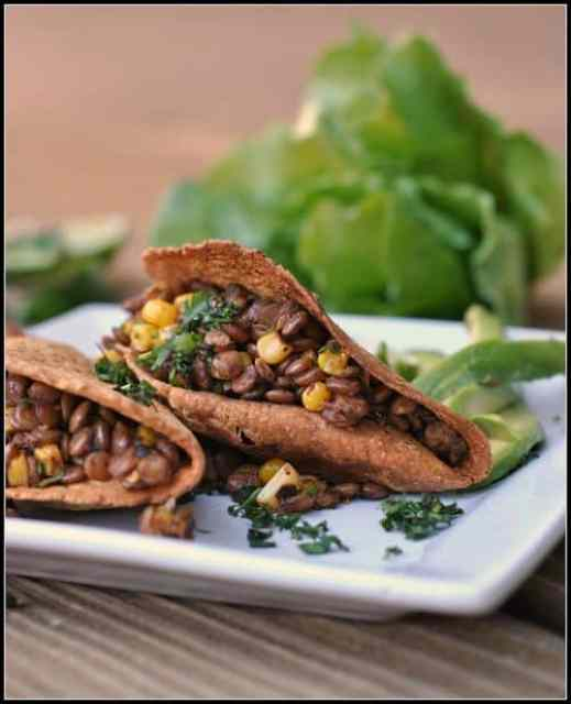 Lentil and Corn Tacos|Prevention RD
