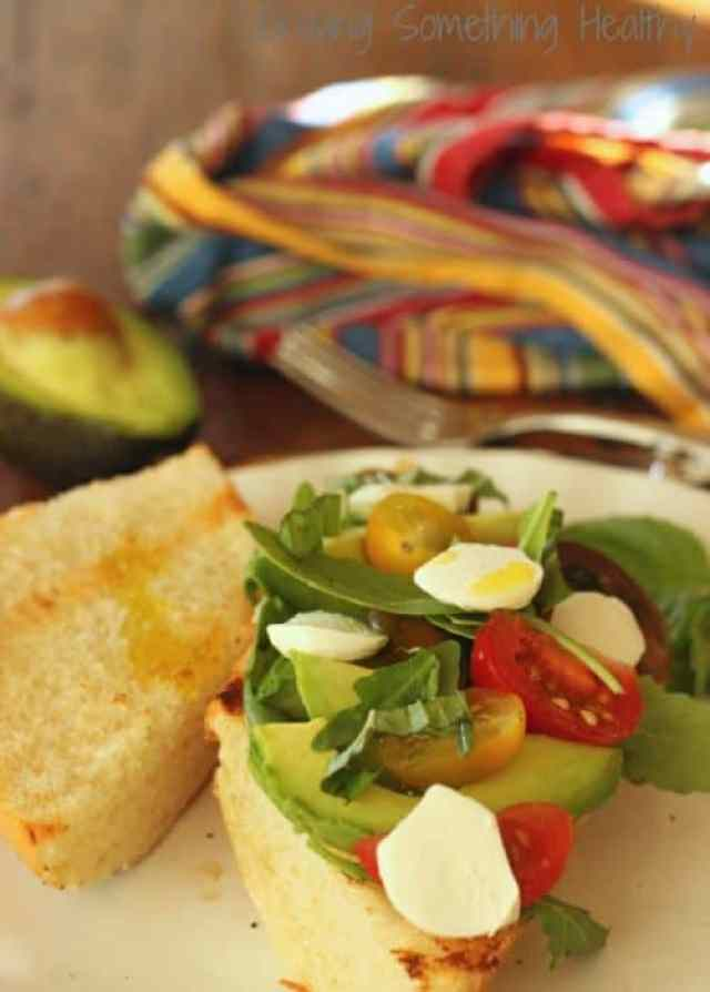 Avocado Caprese Sandwich|Craving Something Healthy