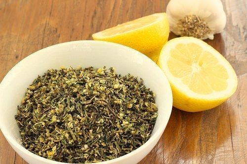 Rosemary Thyme Lemon and Garlic Herb Mix