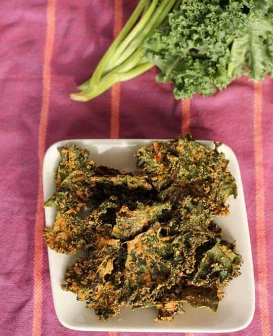 Cheesy and Vegan Kale Chips|The Kitchn