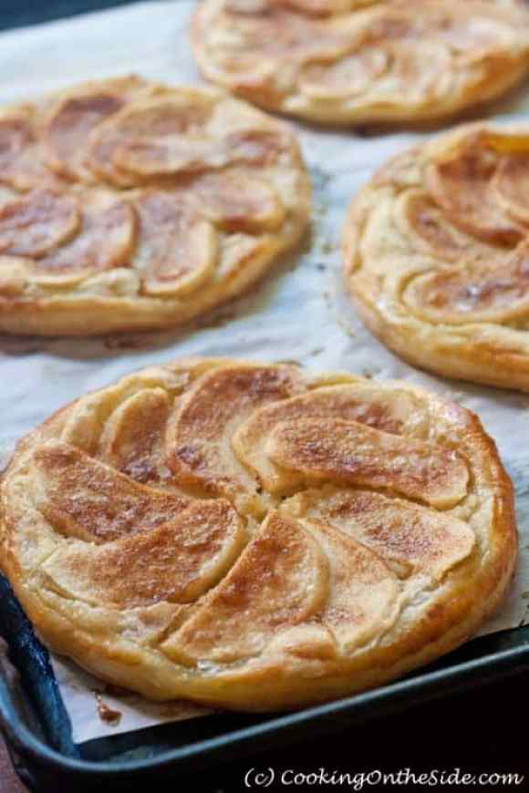 Apple Frangipane Galettes|Cooking on the Side