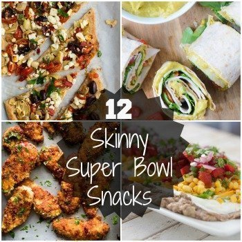 12 Skinny Super Bowl Snacks