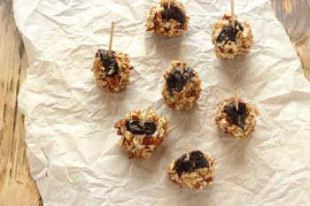 Dried Plums with Blue Cheese and Pecans Craving Something Healthy