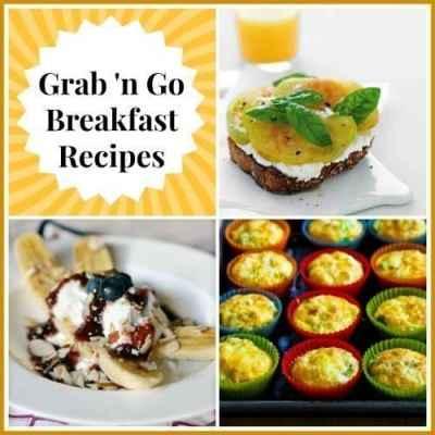 7 Grab 'n Go Breakfast Recipes