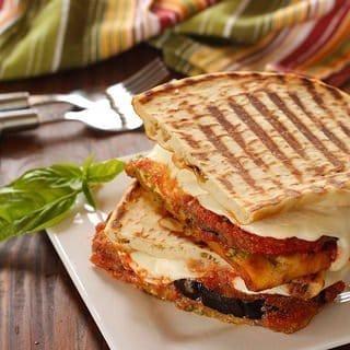 Eggplant Parmesan Panini