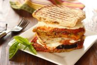 Eggplant Parmesan Panini Craving Something Healthy