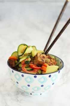 Thai Coconut Curry Vegetables|Craving Something Healthy