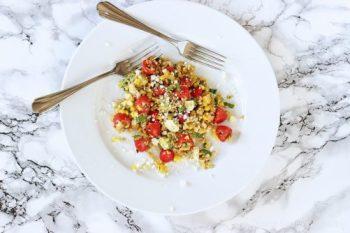 Freekeh-licious Corn and Tomato Salad