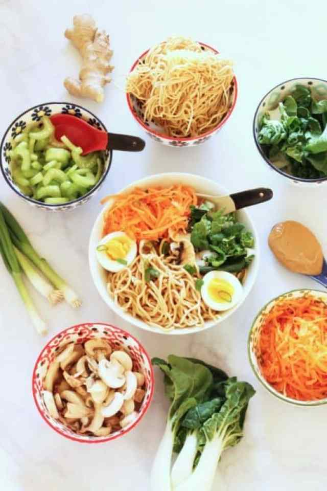Super-Simple Homemade Peanut Ramen Noodles|Craving Something Healthy