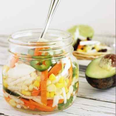 Pickled Taco Salad {Recipe ReDux}