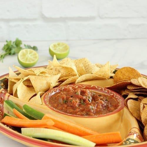 Sheet Pan Restaurant-Style Salsa Craving Something Healthy