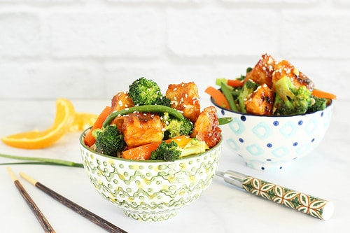 General Tso's Tofu with Vegetables|Craving Something Healthy
