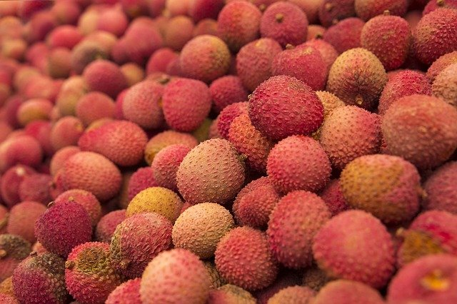 lychee during christmas in madagascar
