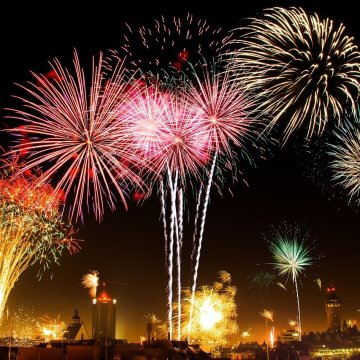 the world's most expensive new year's fireworks display