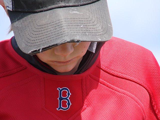 young Sox fan