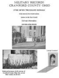 Military Records of Crawford County Ohio