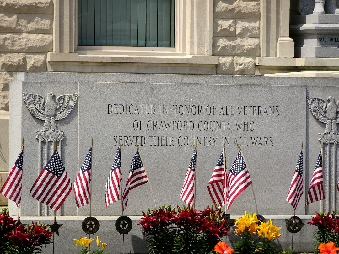 Crawford County Ohio War Memorial