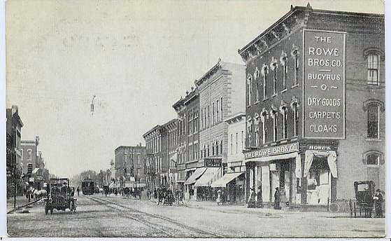 Rowe Bros Later Became F.W. Woolworth in Bucyrus