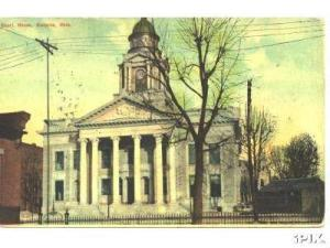 The Crawford County Courthouse in 1912