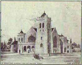 1906 First Presbyterian Church, South Poplar St, Bucyrus Ohio