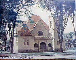 Bucyrus Baptist Church - on Woodlawn Ave ca. 1910 ?