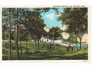 Bucyrus Country Club as it looked after 1915 located near the intersection of Whetstone and East Mansfield Streets.