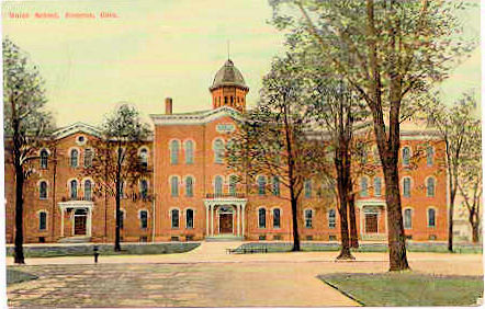 Bucyrus Ohio Union High School After ca1910 Remodel