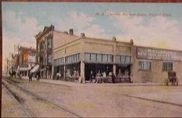 1907 Curtiss Racket Store Galion Ohio (Source: Internet)