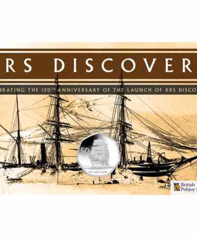2021 RRS Discovery BU Diamond Finish 50p